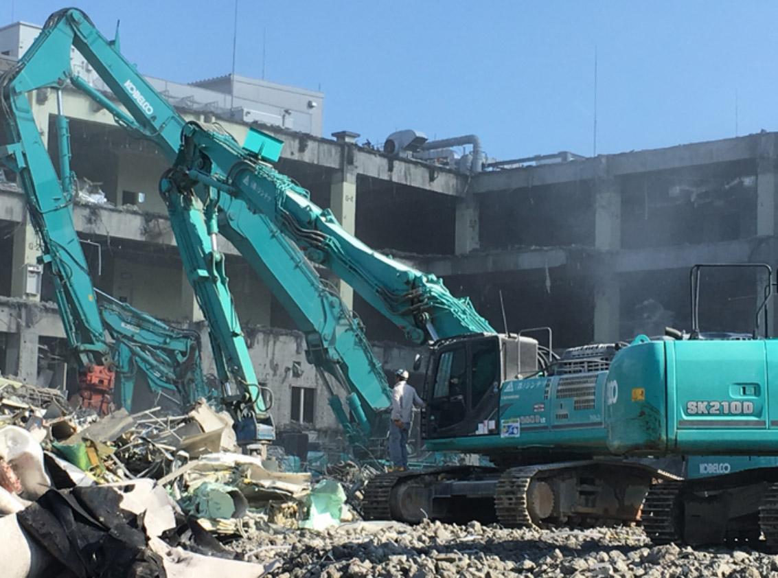 解体事業   広島の解体業なら桑原組